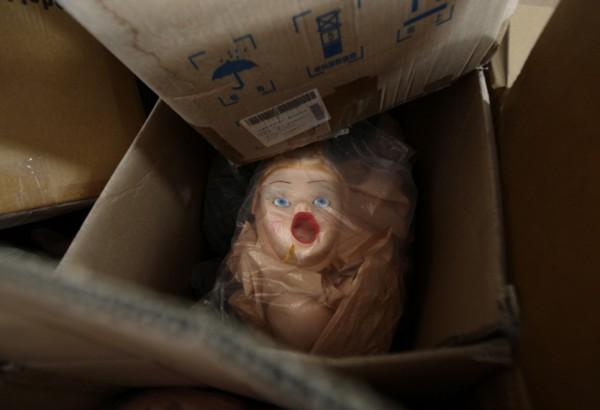 На китайской фабрике по производству секс-кукол. Фото №13