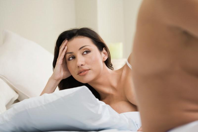 Нет оргазма во время полового акта
