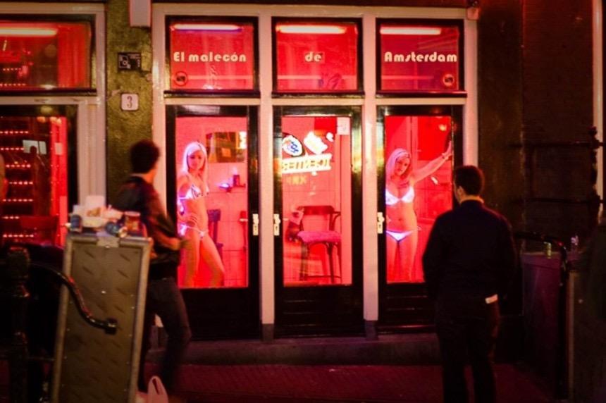 Секс-туризм. Нидерланды, Амстердам